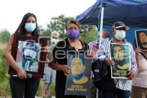 PROTESTA . CASA DE JUSTICIA
