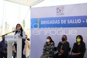 CHOLULA . BRIGADAS DE SALUD