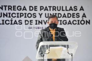 TLAXCALA . ENTREGA DE PATRULLAS